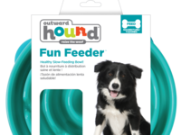 Outward Hound Teal Funfeeder Large Mockup