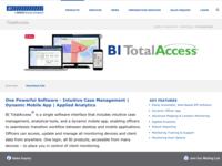 Bi TotalAccess App and Web UI Design