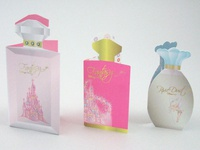 Disney Fragrance Samplers - Mockup Prototype