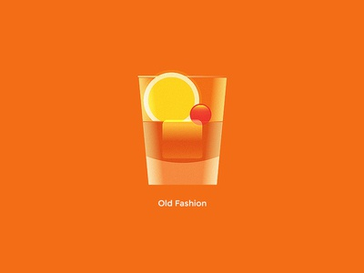 Oldfashion app ios simple geometric flat vector