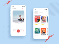 Podcasts mobile app