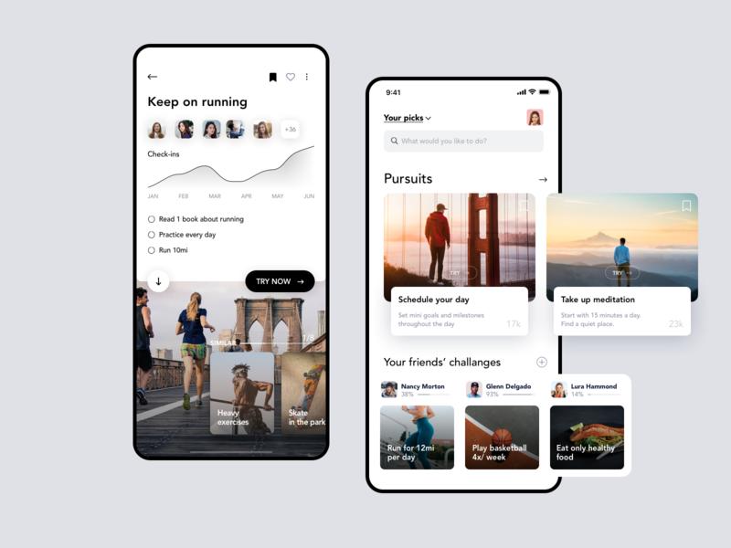 Habits & routines mobile app