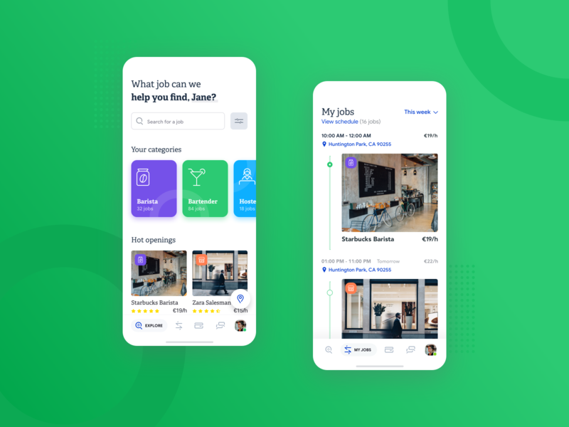Temporary Jobs Mobile App