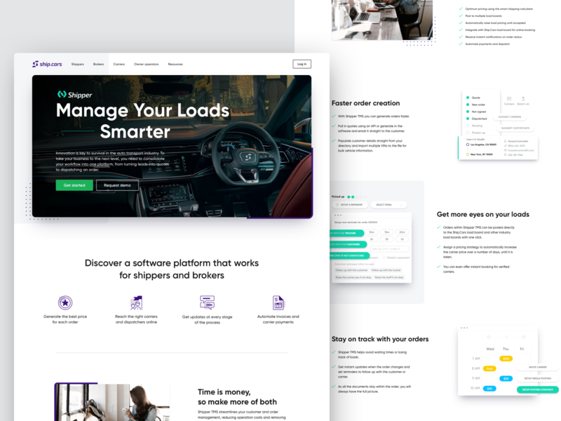 ShipCars Website Redesign