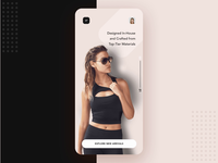Ecommerce sunglass mobile app