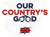 Our Country's Good - Theatre Poster