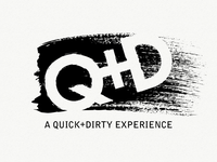 A Quick + Dirty Experience Logo