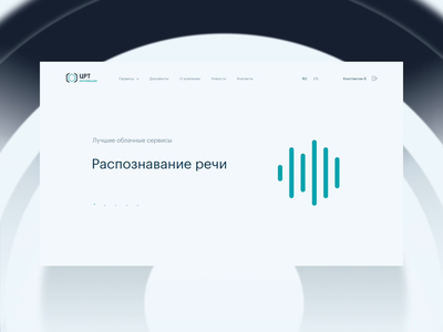 SpeechPro – IT startup website webdesign design icons animation simple it uxui startup ux web ui