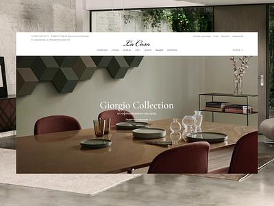 LaCasa Index furniture animation ui e-commerce