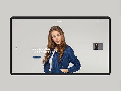 Fashion UI slider e-commerce uiux ui fashion