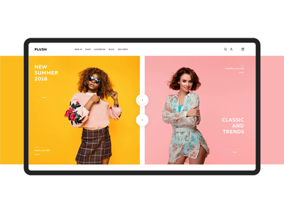 fashion e-commerce uiux ui premium fashion e-commerce