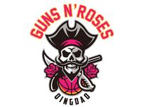 Gun n' roses logo