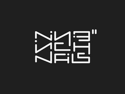Nine Inch Nails hand drawn logo nine inch nails