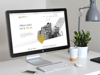 New Website for Financial Company