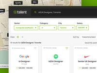 Web Platform for Job Searching