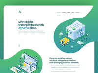 Microsite for Enterprise Data Firm