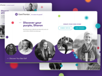 Grant Thornton Careers Site careers webdesign clean website ux ui