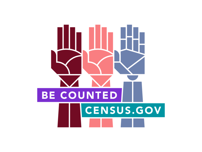 Be Counted iconography vector design illustration