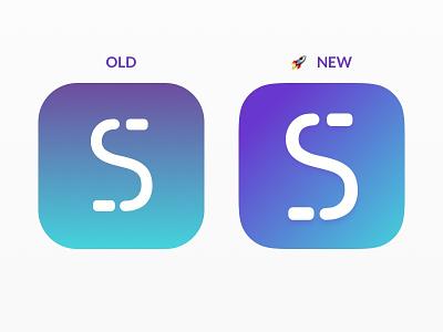 New StashInvest App Icon blue purple gradient app icon stashinvest