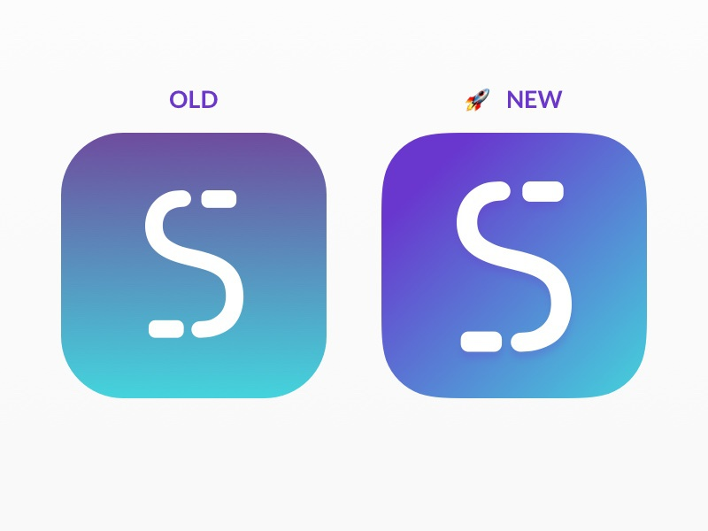 New StashInvest App Icon blue purple gradient app icon stashinvest