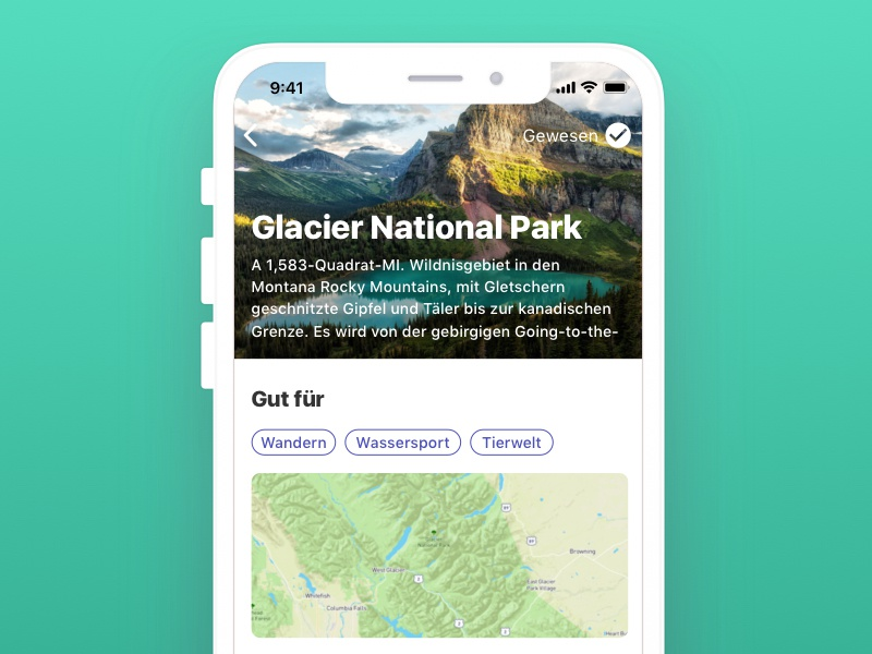 Glacier National Park inclusive accessibility nature german travel national park