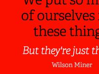 Wilson Type1