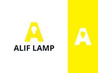 Alif Lamp Logo