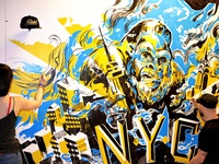 KING KONG Oakley/Lawson Mural for Agenda NYC