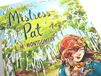 Mistress Pat - Book Cover Illustration