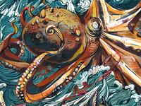Octopus Battle!