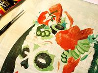 Process: La Carnita lady