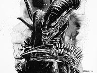 Inktober: Alien Xenomorph