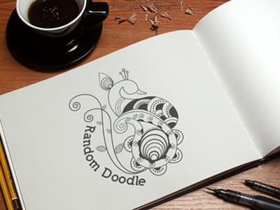 Random Doodle illustration doodle sketching tattoo