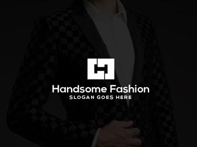 Letter 'H' Logo typography letter design fashion logo