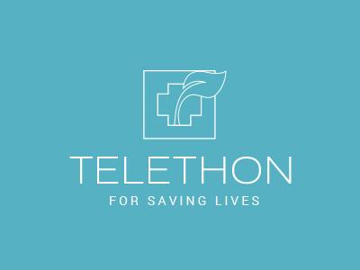 Telethon logo nature tree life medical hope