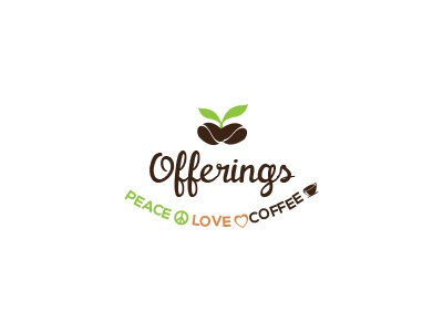 Offerings logo coffee nature coffee shop