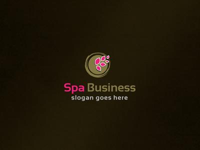 Spa Business Logo logo design branding