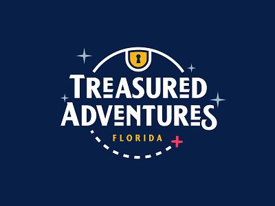 Treasured Adventures Logo Designzillas A adventure treasure hunt designzillas branding logo