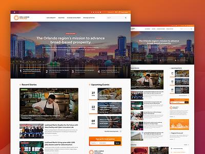 Orlando Amplified designzillas orlando news ui  ux web design homepage design