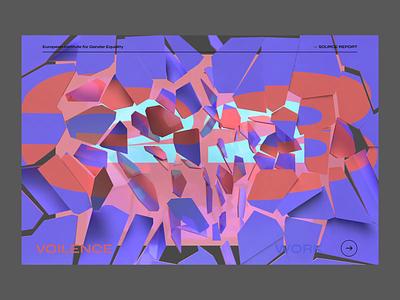 Glass Ceiling data glass interaction ui animation website 3d c4d cinema 4d