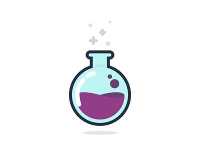Potion Icon clean minimal design icondesign icon potion