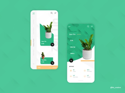 Plant Shop App appdesign store design shop plantshop plant interactiondesign mobileapps ui  ux uiux mobileapp ux ui uxdesign uidesign