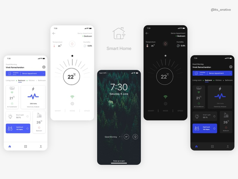 Smart Home App mobile ui home page splashscreen mobile app daily challange simple design interaction design dailyui design app design mobile app ux ux design ui design uiux ui smart home smart home app