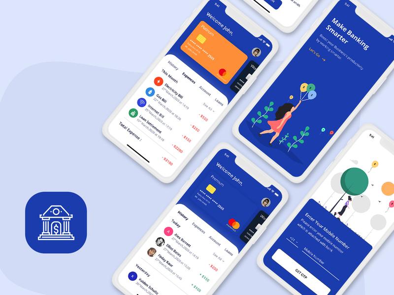 Banking & Finance App UI