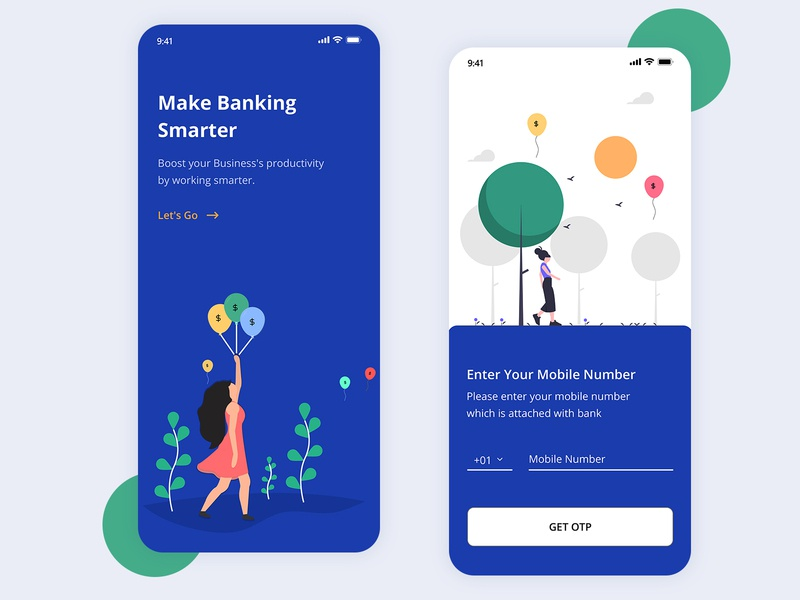 Banking & Finance AppUI