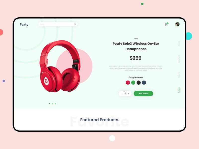 E-Commerce Layout