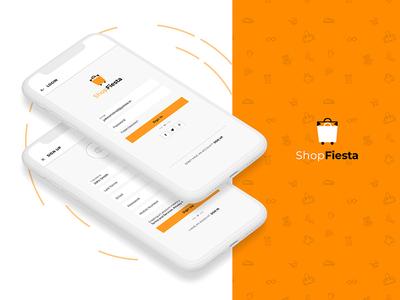 Online Shopping Application UI
