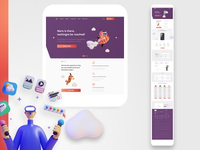 There is a flower that grows on Mars design project concept changes crypto marketing tbilisi georgia ux research website design simulation ux writing figma xd design 3d product design uidesign ux ui dribbble