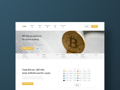 DIVES gold website template website design dribbble crypto currency crypto wallet bitcoins tbilisi georgia exchange bitcoin exchange euro usd bitcoin product design ui ux design web design crypto website website crypto