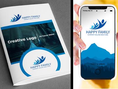 Happy Family Logo Design